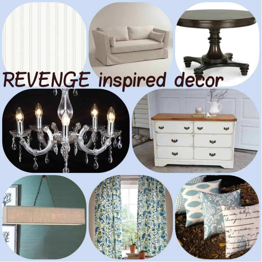 revenge inspired decor