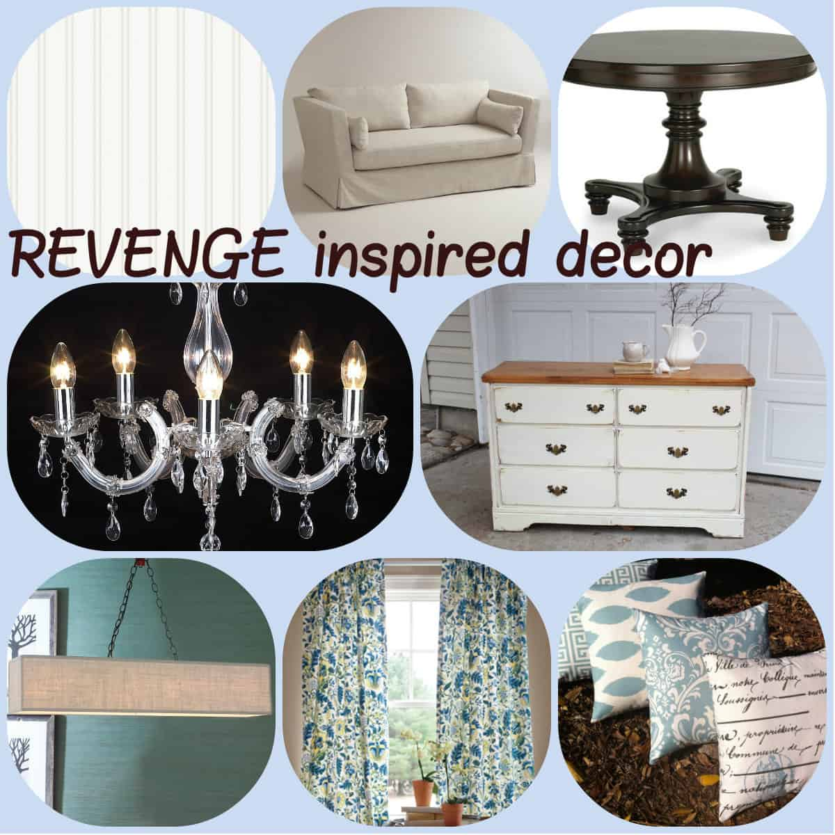 Revenge Interior Design Inspiration: Beachy Chic to the Max