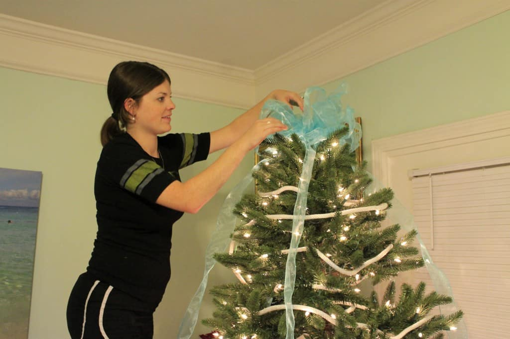 A DIY Coastal Christmas Tree - Charleston Crafted