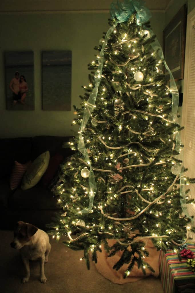A DIY Coastal Christmas Tree - Charleston Crafted