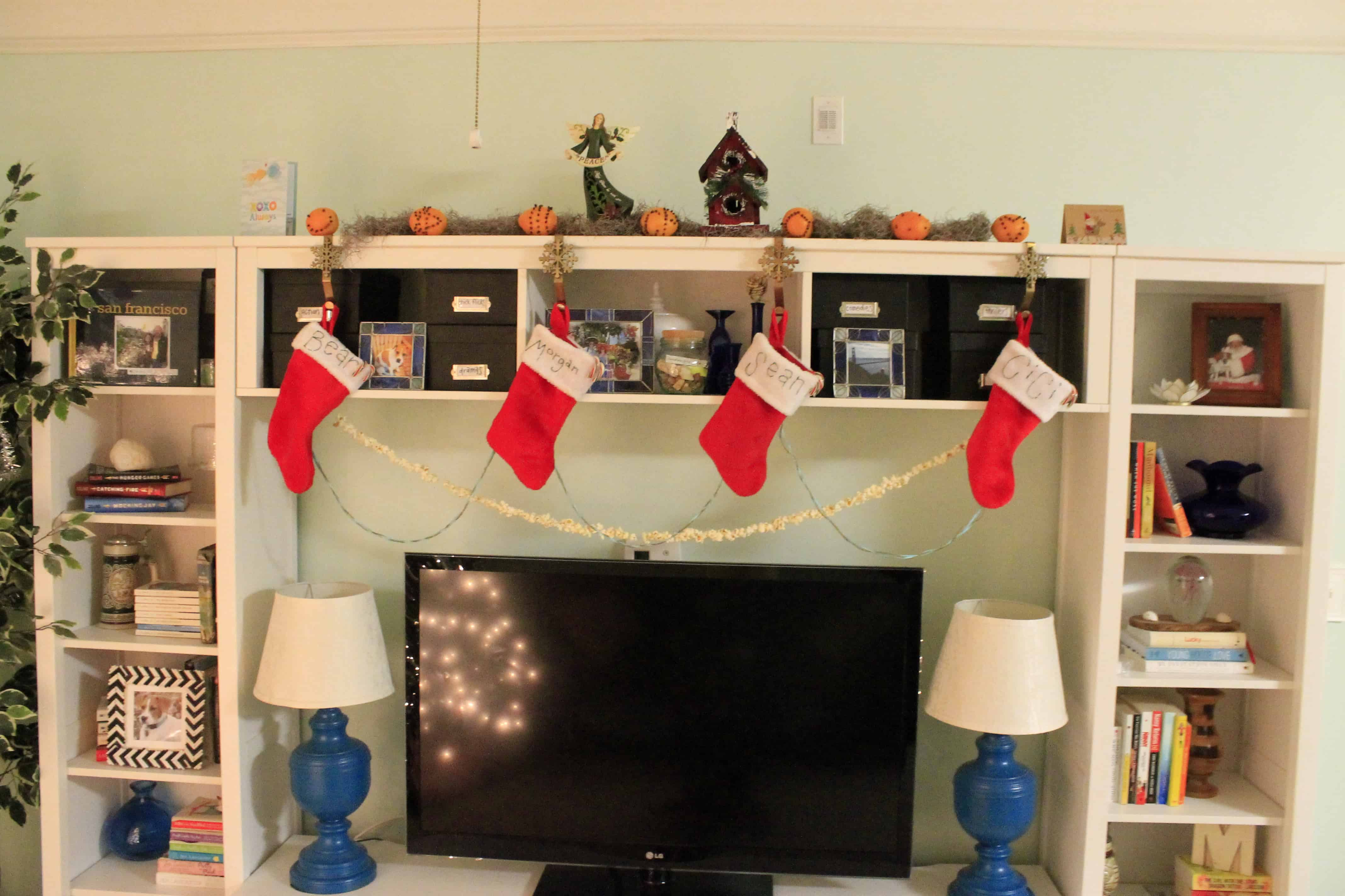 A More Traditional Christmas Not-Mantle