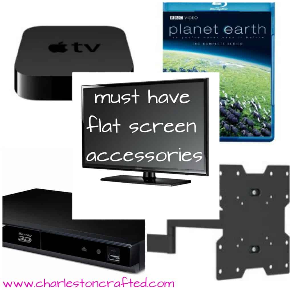 Did you get a flatscreen tv for christmas? Check out our recomendations for must have acessories!
