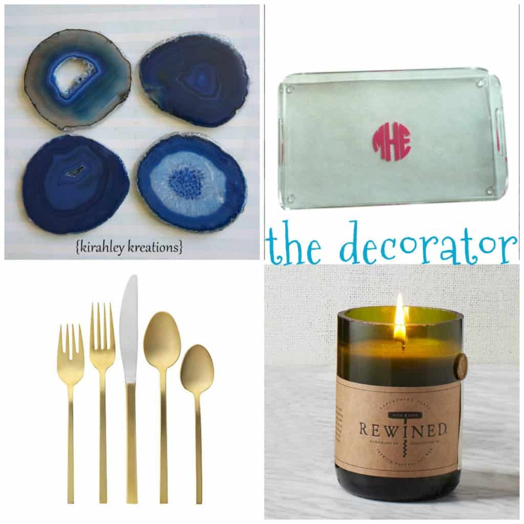 gift guide for the home decorator