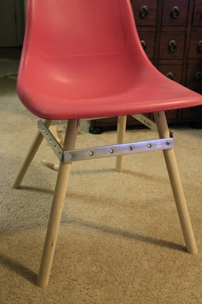 DIY Eames Knock off Chair Fail