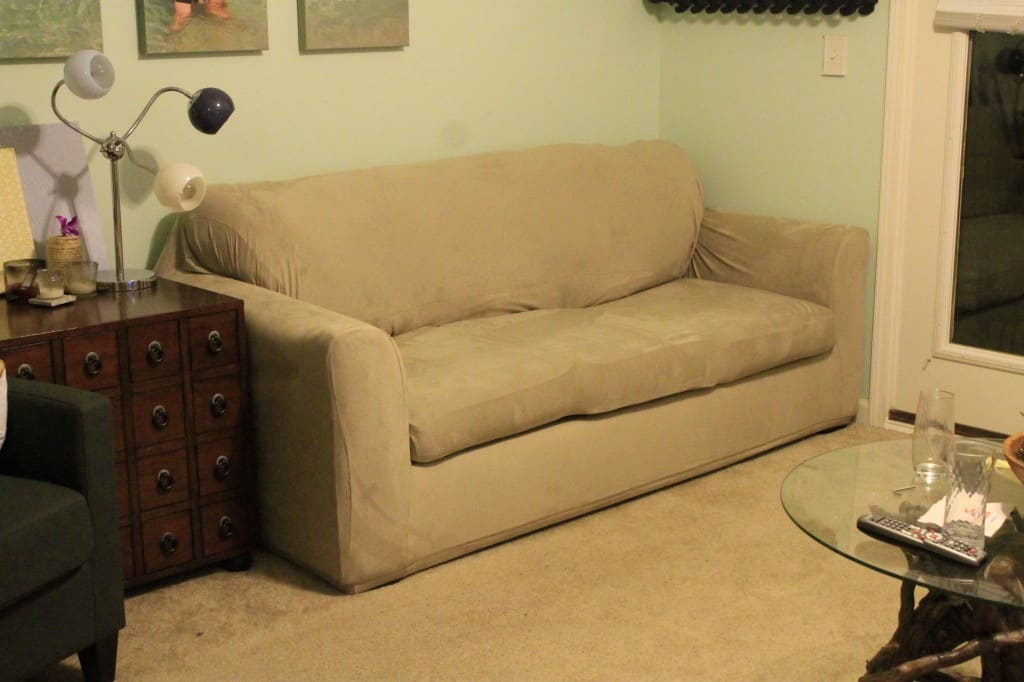 Covering a Couch - Charleston Crafted