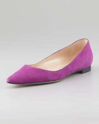 Radiant Orchid in Fashion - ballet flat