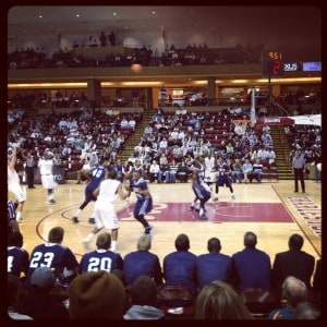 UNCW vs CofC Basketball Game