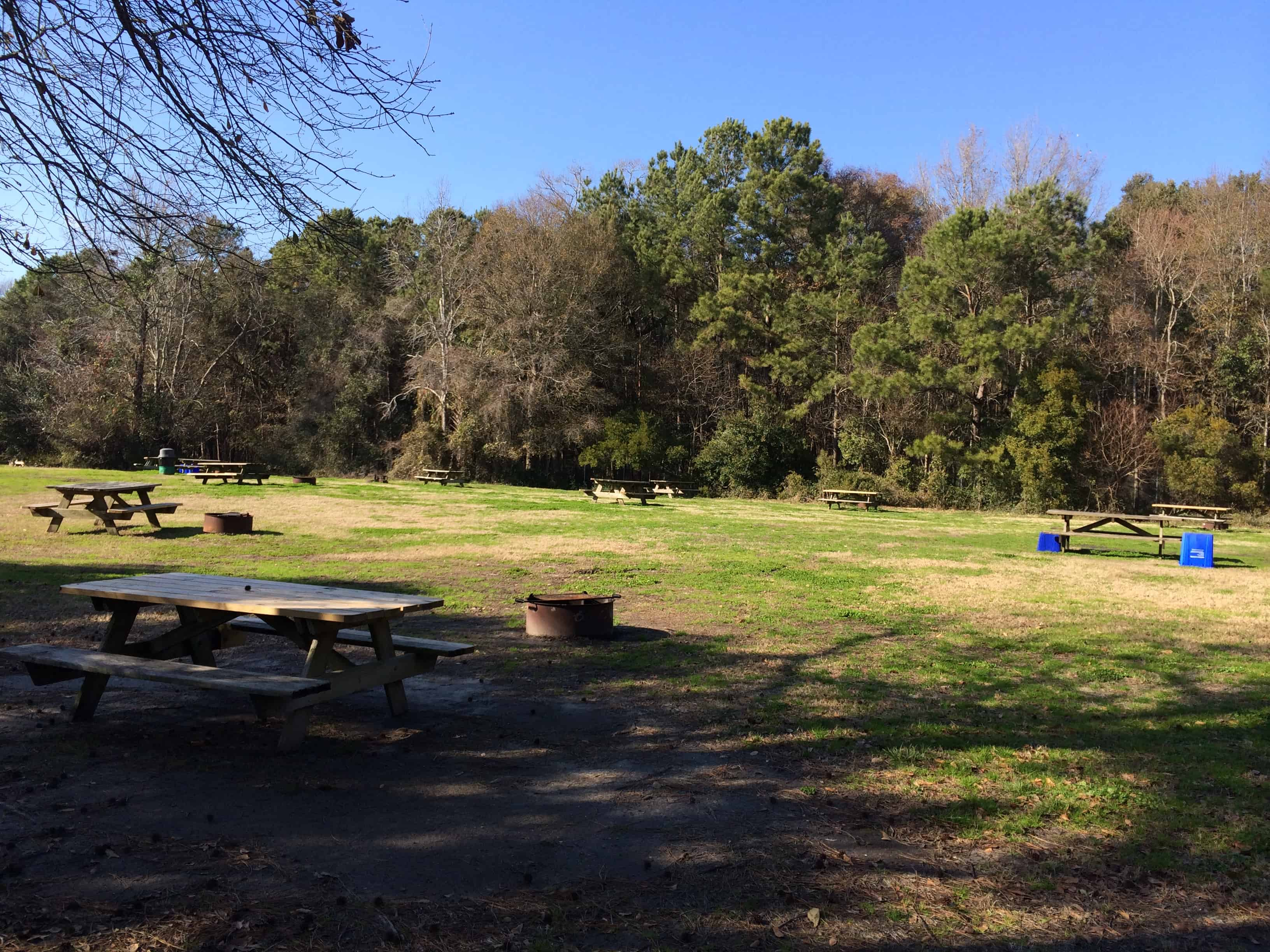 James Island State Park Campground