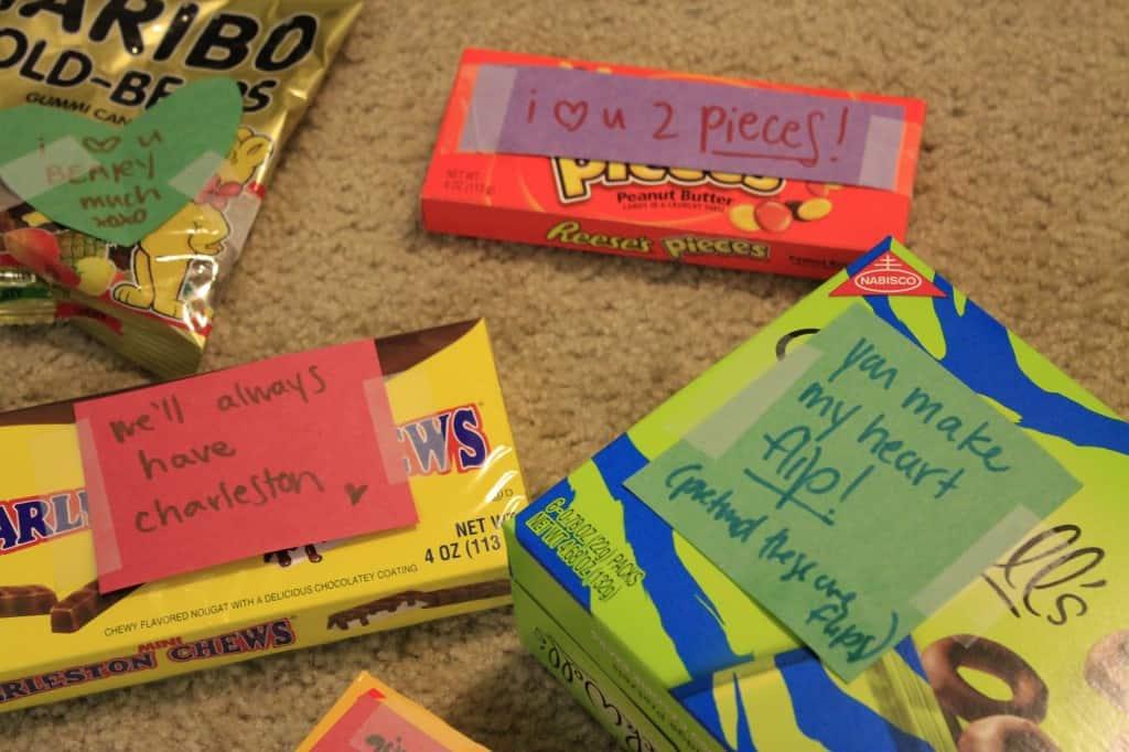 A Fun and Easy Candy Love Gift - Charleston Crafted