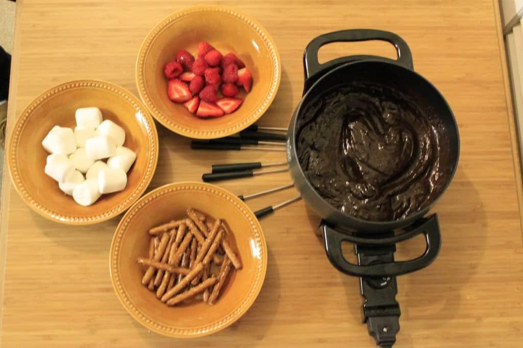 Chocolate Fondue Date Night - Charleston Crafted
