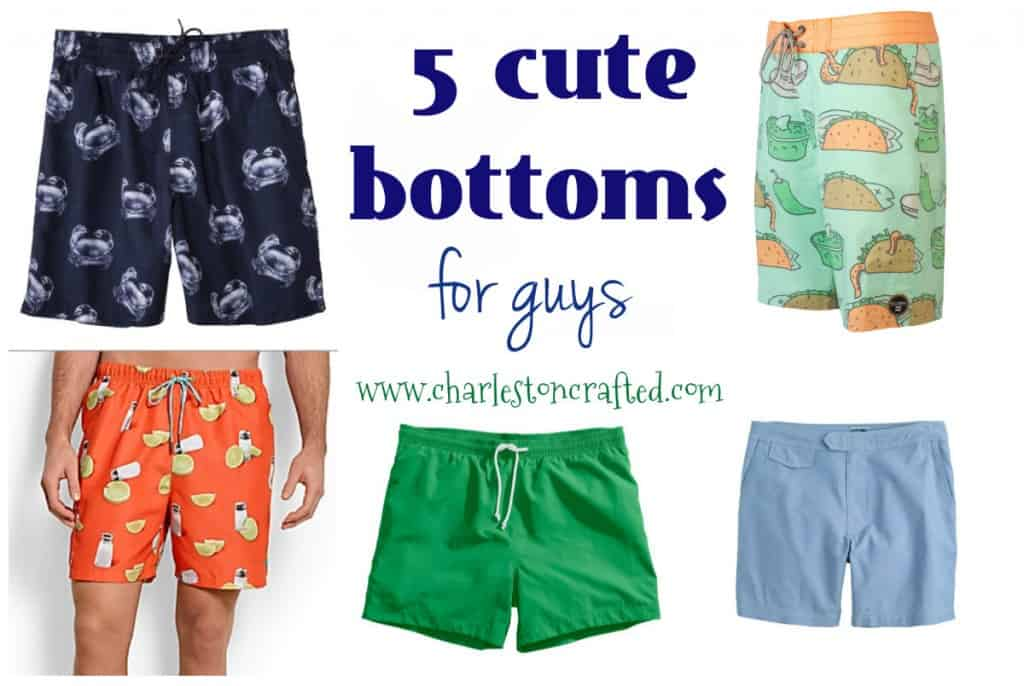 5 cute bottoms for guys