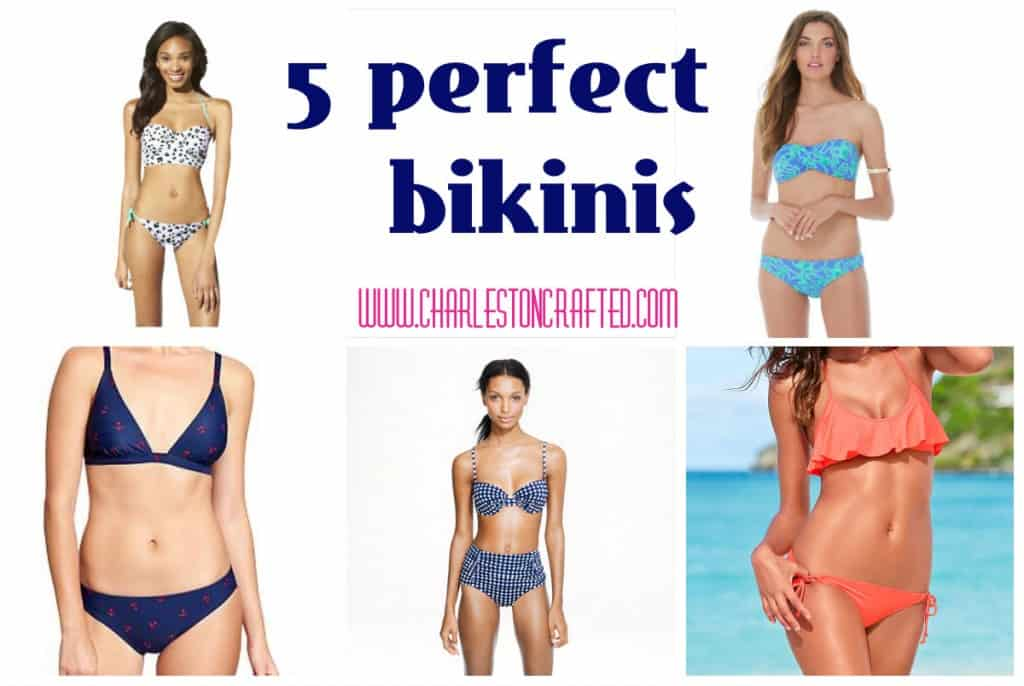5 perfect bikinis