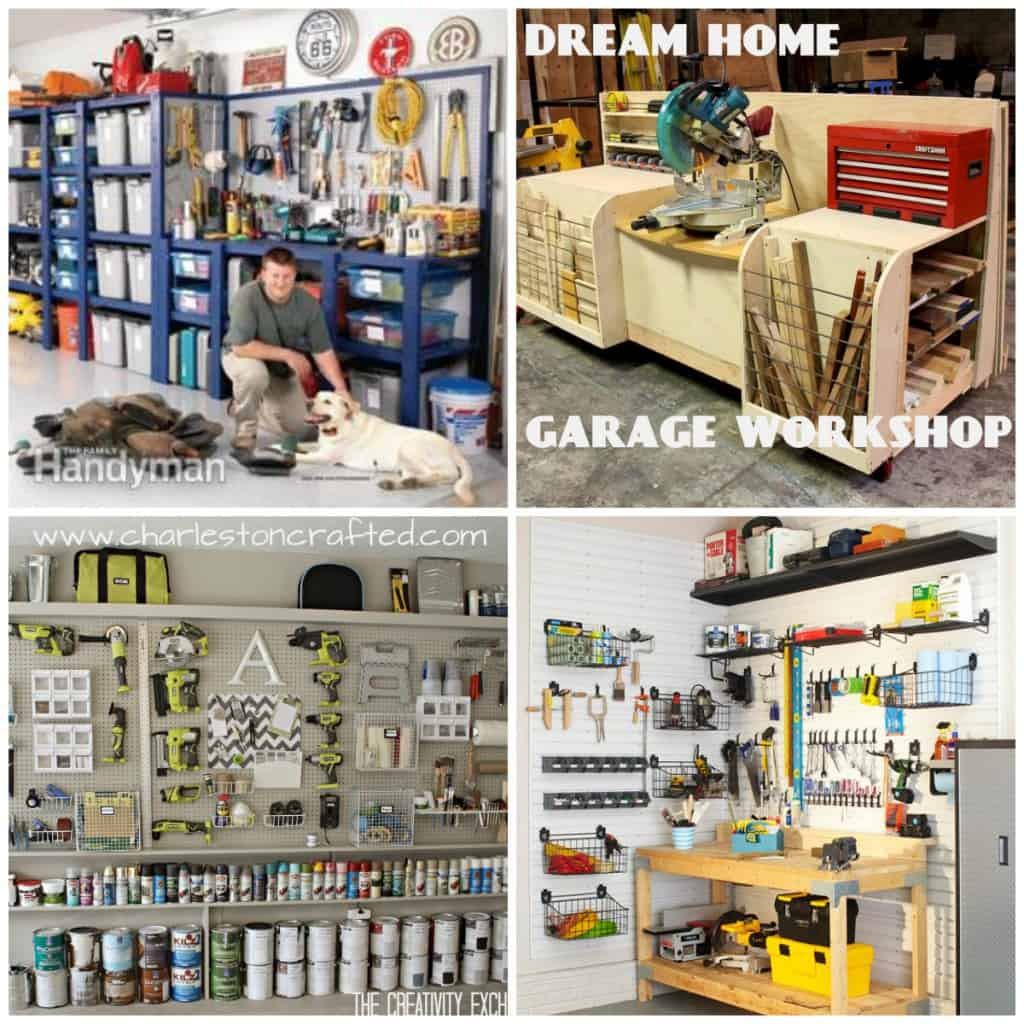 Dream home garage workshop