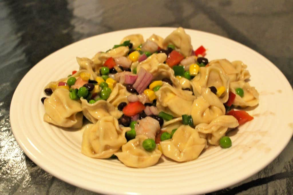 Confetti Tortellini Salad - Charleston Crafted