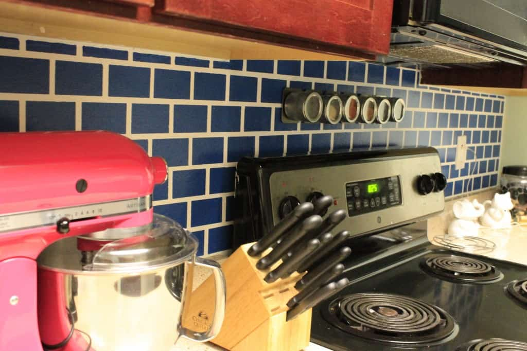 A Painted Backsplash - Charleston Crafted