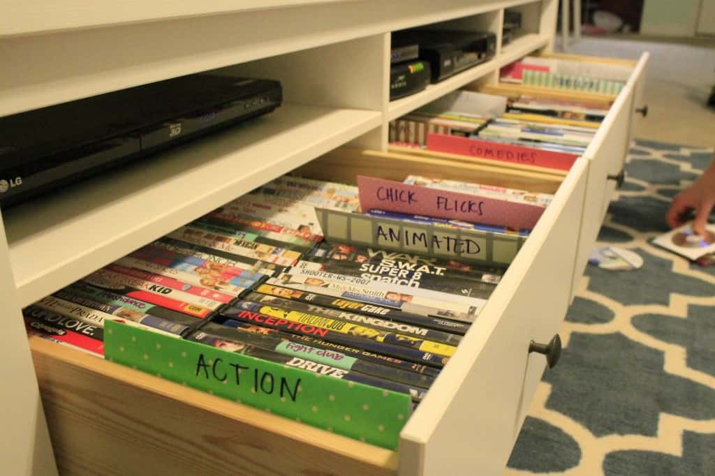 DVD Organization - Charleston Crafted