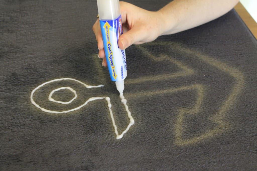 DIY Bleach Pen Anchor Mat - Charleston Crafted