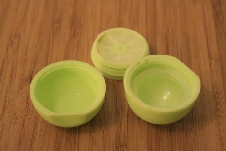 Turn an EOS Egg Lip Balm into a Storage Container - Charleston Crafted