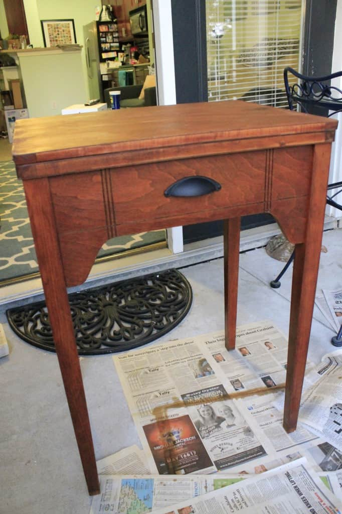 Sewing Table into Bar Table - Charleston Crafted