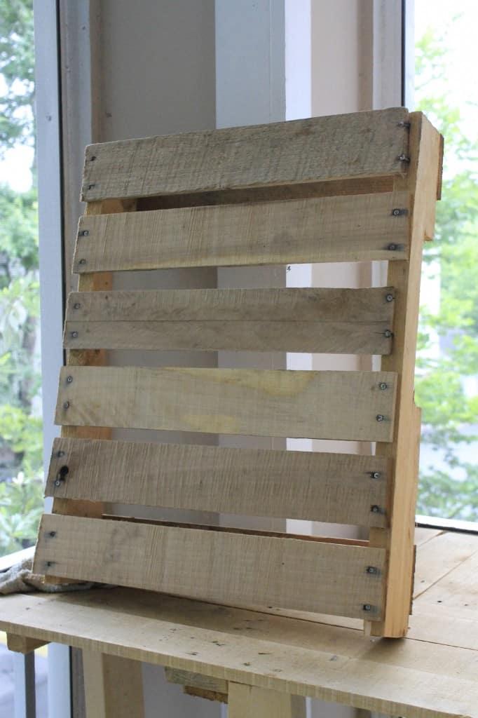Wooden Pallet Herb Garden - Charleston Crafted
