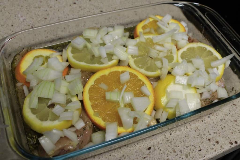 Citrus Herb Chicken Bake - Charleston Crafted