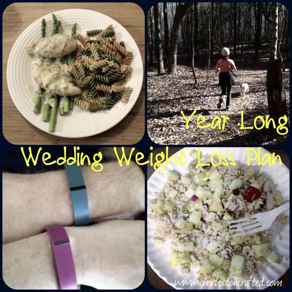 year long wedding weight loss plan