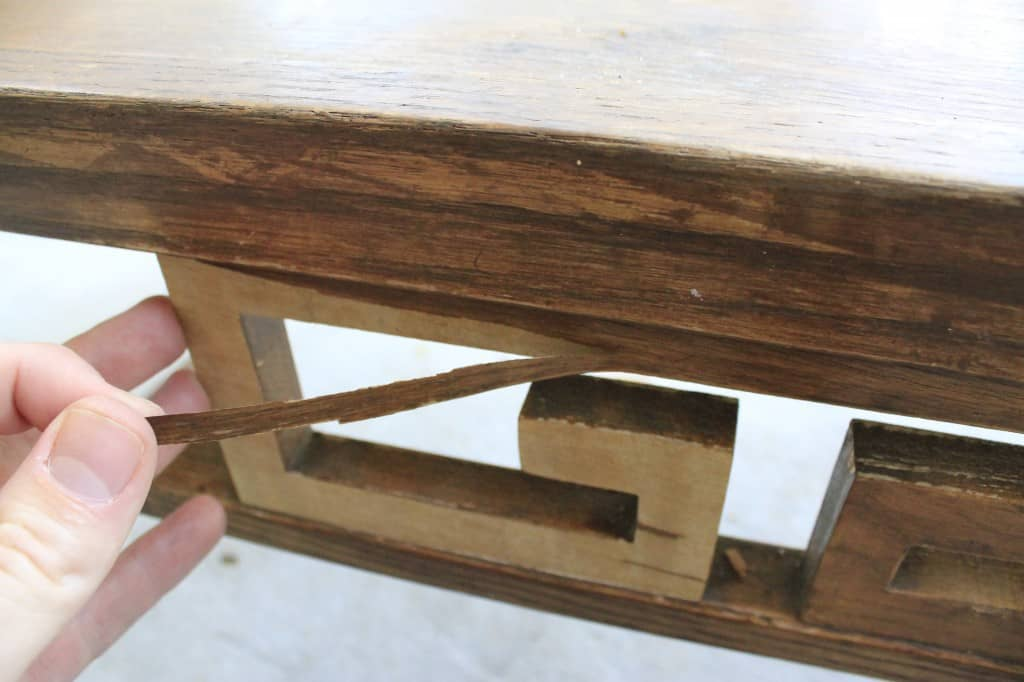 Making Over an Old Coffee Table - Charleston Crafted