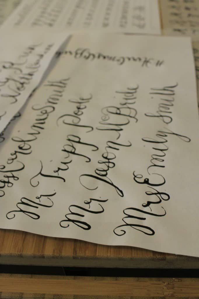 Hand Lettering Class - Charleston Crafted