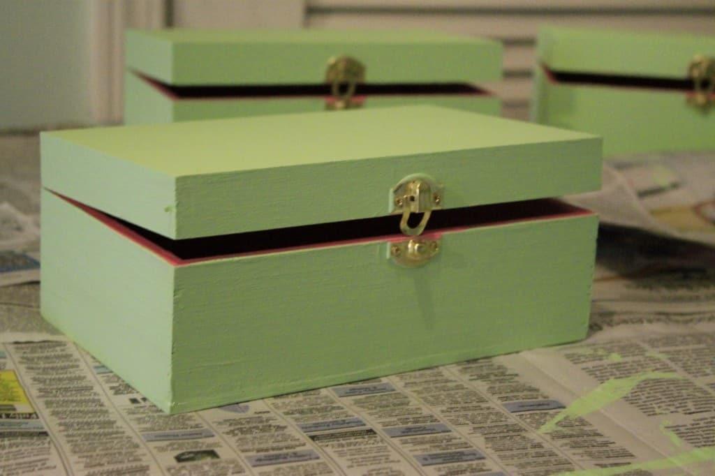 Nautical Bridesmaids Ask Boxes - Charleston Crafted