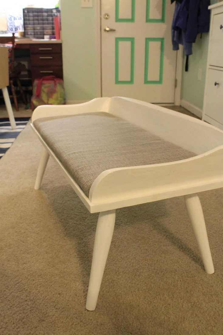 Goodwill Collaboration: Bench Makeover