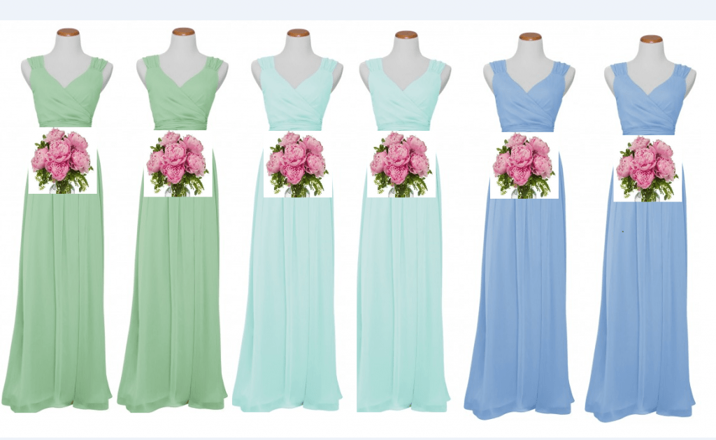 Ombre Bridesmaids Dresses - Charleston Crafted