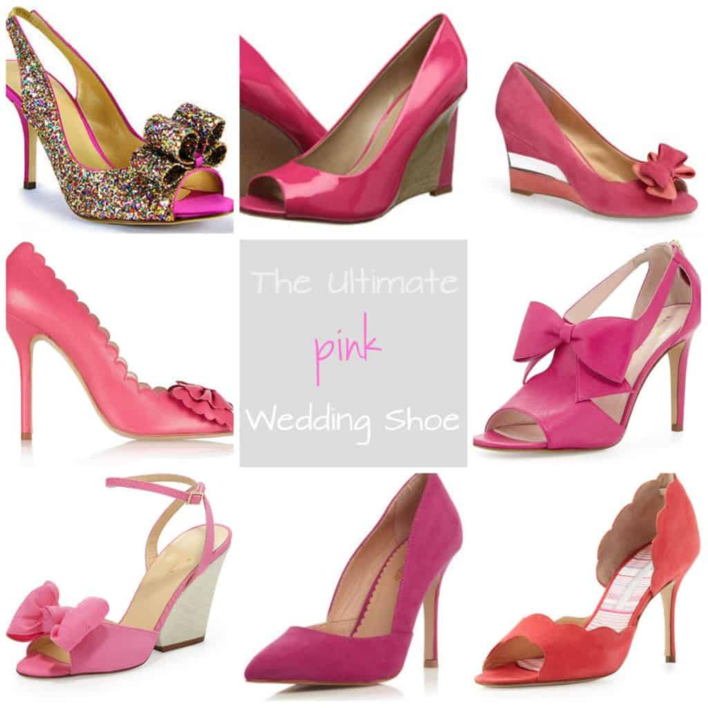 The Ultimate Pink Wedding Shoe & How much is too much to spend on shoes for your wedding - Charleston Crafted