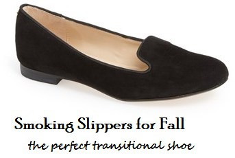 Smoking Slippers for Fall - the perfect transitional shoe - Charleston Crafted
