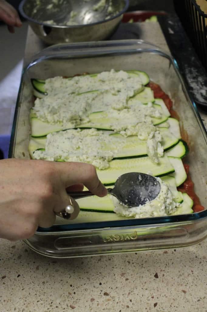 Zucchini Lasagna - Charleston Crafted