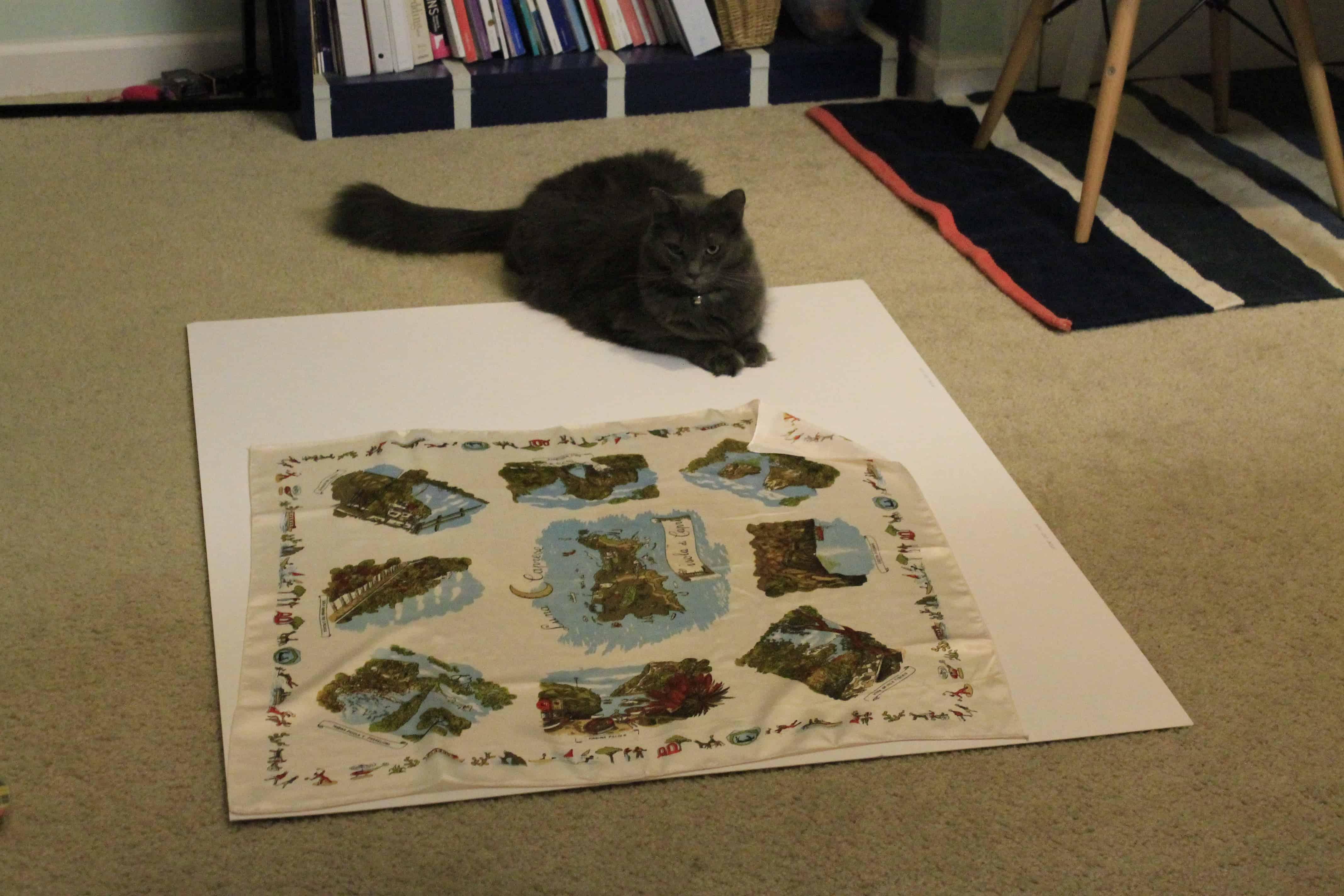 Framing A Silk Scarf