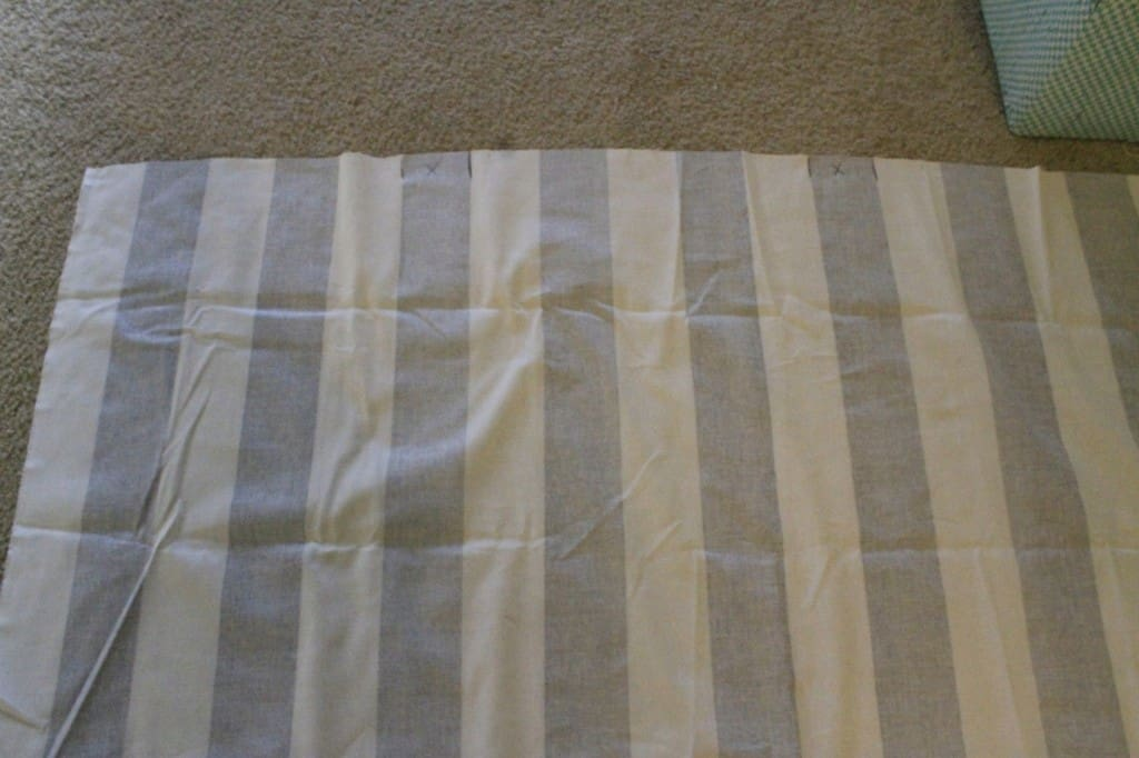DIY Striped Table Runner - Charleston Crafted
