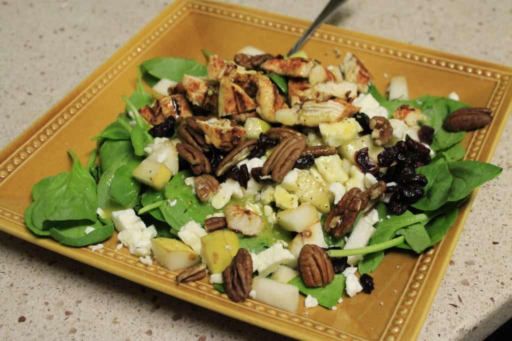 Fall Pear Salad - Charleston Crafted
