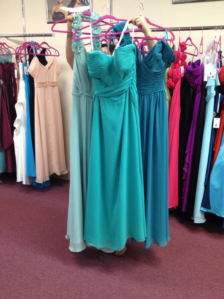 Bridesmaids Dress Shopping - Charleston Crafted