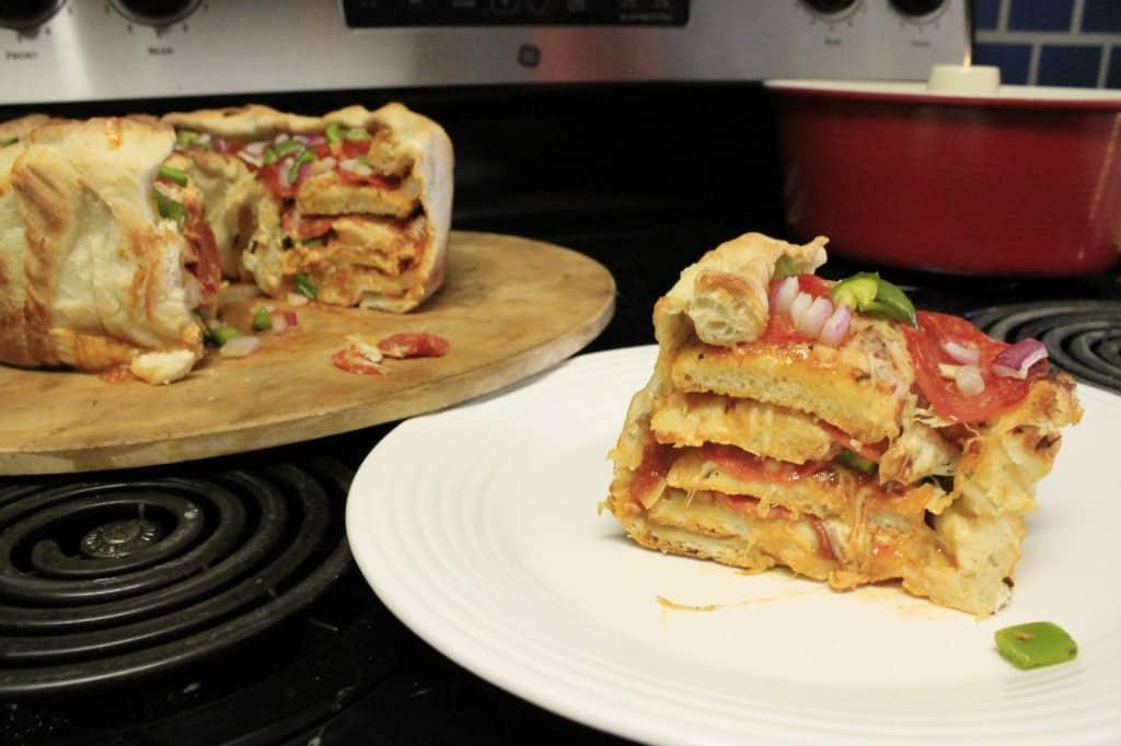Pizza Cake - Charleston Crafted