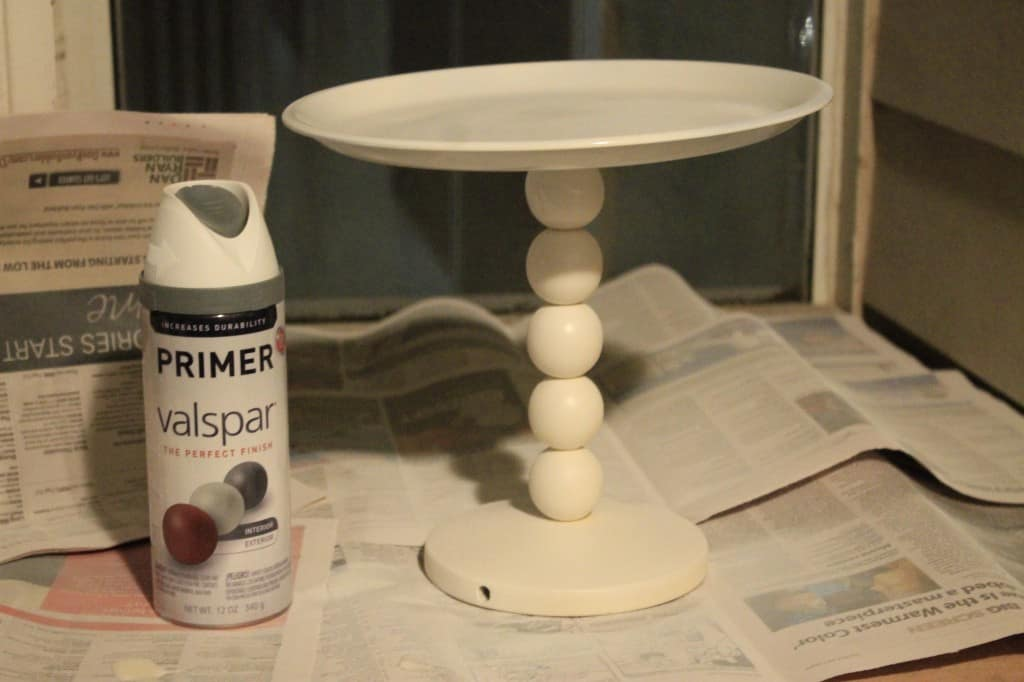 Turn a Lamp into a Cake Stand - Charleston Crafted