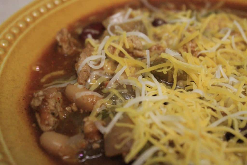 Crock Pot Turkey Chili - Charleston Crafted