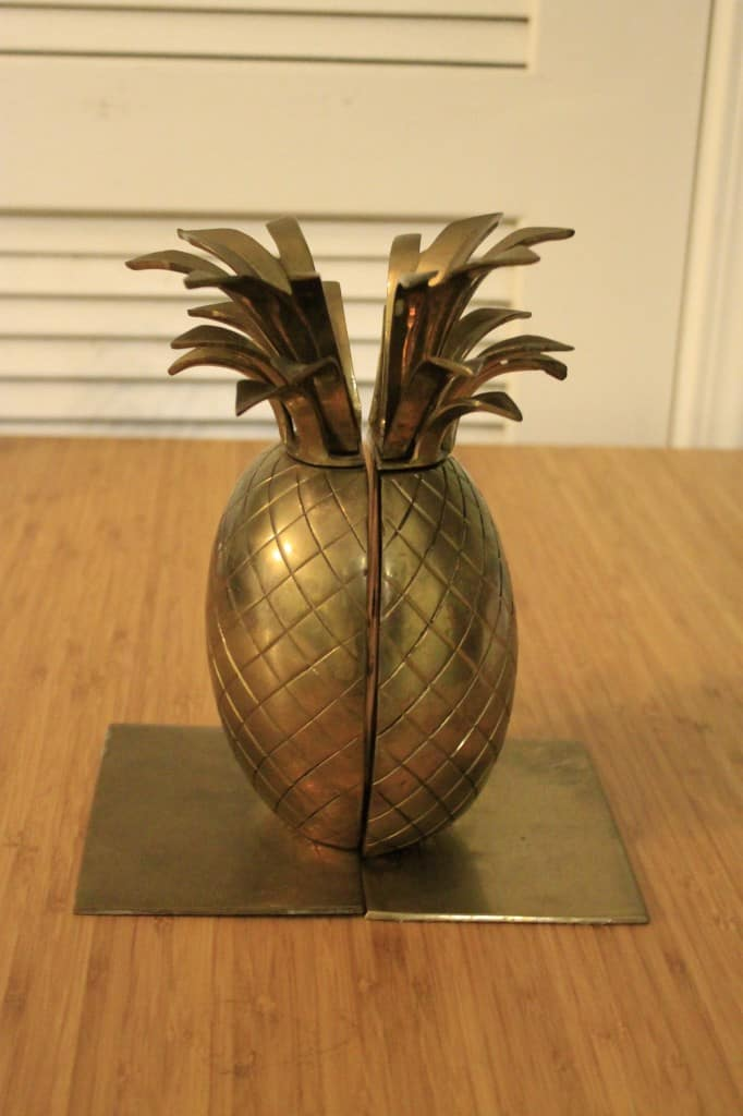 Pineapple bookends - charleston crafted
