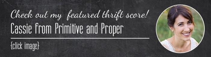 Thrift Score Thursday Cassie