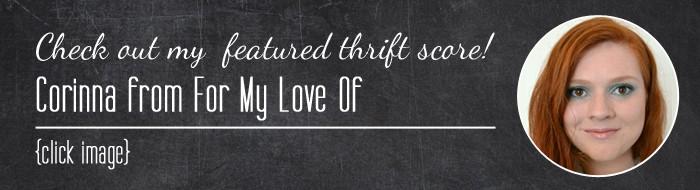 Thrift Score Thursday Corinna