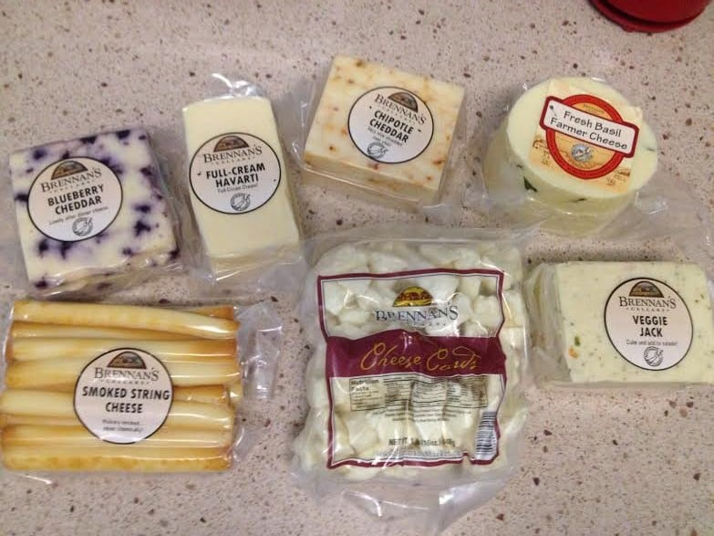 Wisconsin Cheese Haul - Charleston Crafted