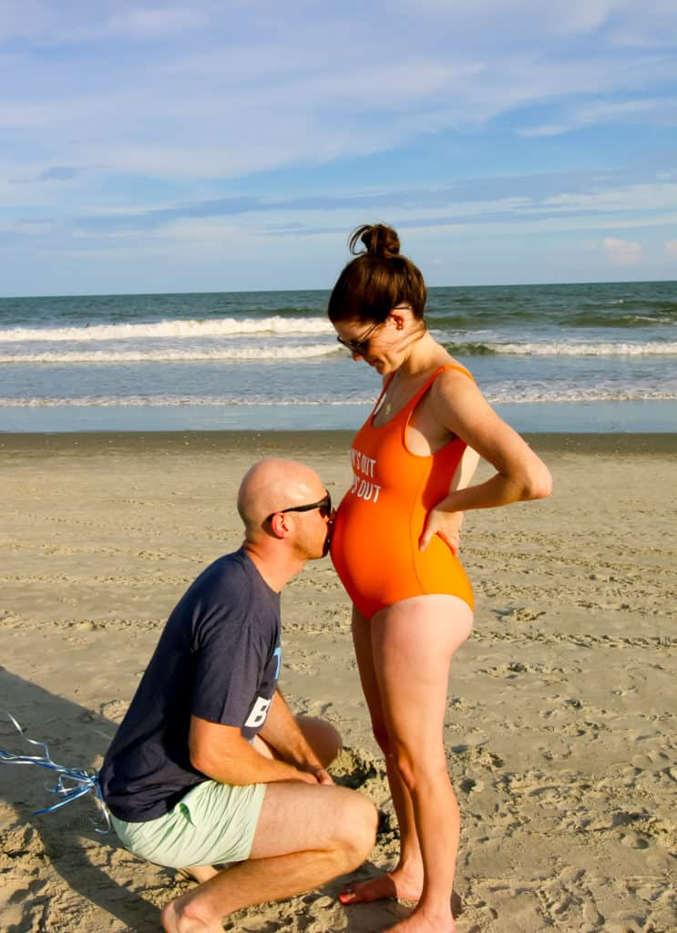 Charleston Crafted Baby Announcement