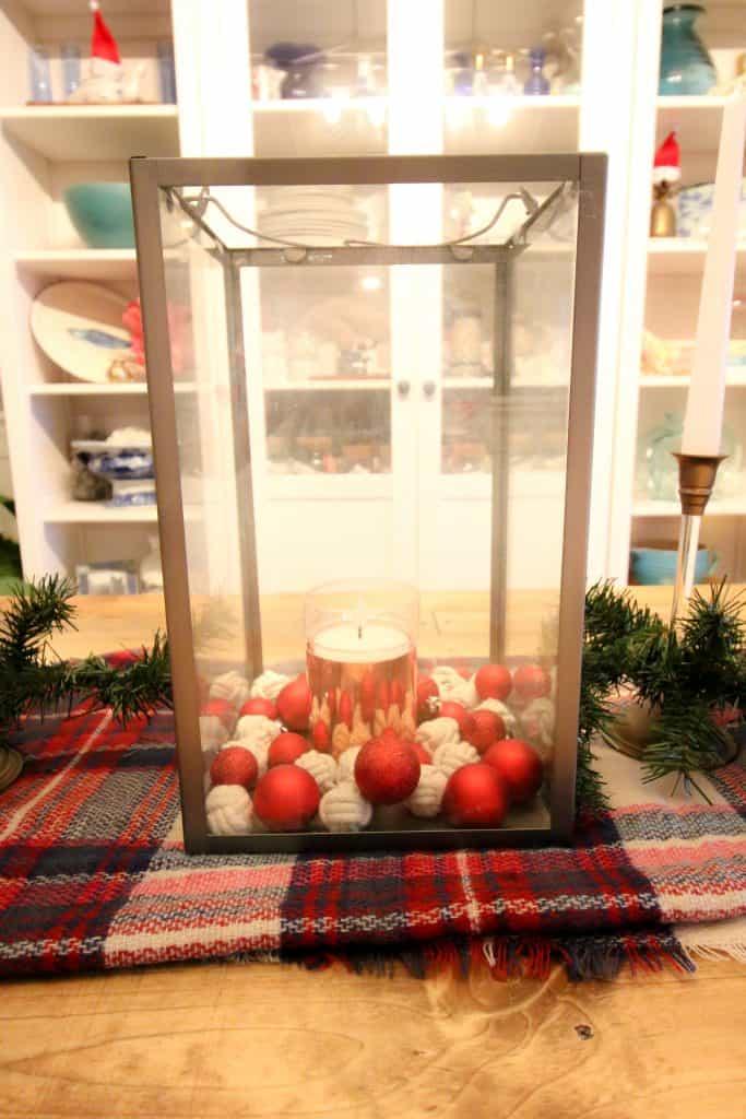 DIY Christmas Centerpiece