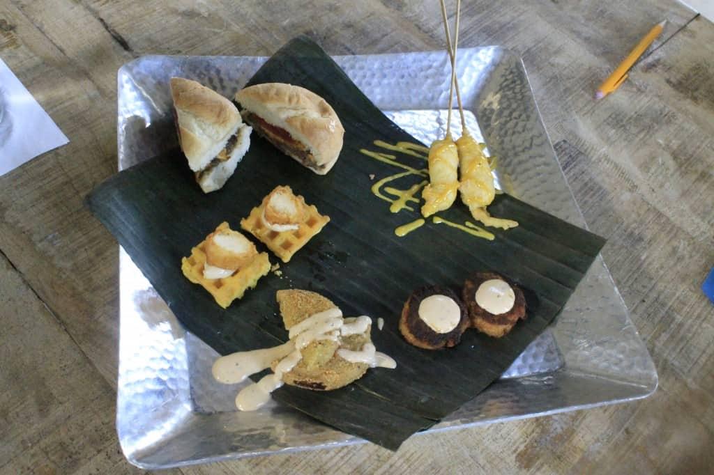 Cottage on the Creek Wedding Tasting - Charleston Crafted