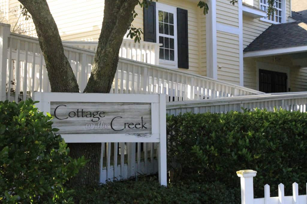 Cottage on the Creek - Charleston Crafted