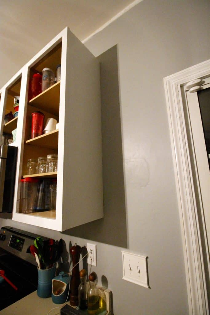 Easy Open Shelving in the Kitchen - Charleston Crafted